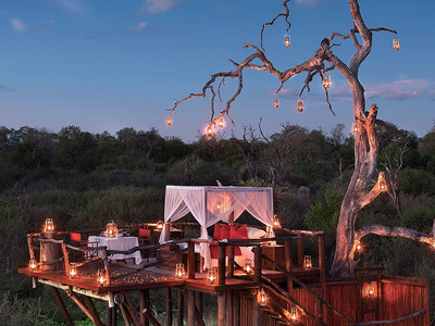 Chalkley Luxury Treehouse Sabi Sands Afrique du Sud
