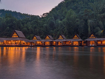 Hotel Float House Thailande