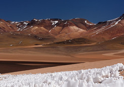 Altiplano en Bolivie