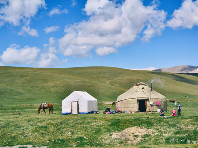 mongolie-yourte-cheval